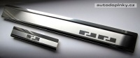 Kryty prahů-nerez Daewoo LANOS 5dv. -- rok výroby 1997-2004 (4-dílná sada)