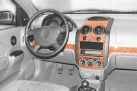 Decor interiéru Daewoo Kalos -- od roku výroby 10/2002- umístění palubní deska - 4 díly