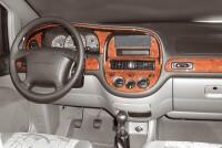 Decor interiéru Daewoo Tacuma 1,6l -- od roku výroby 4/2002- umístění palubní deska - 11 dílů