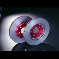 """GALFER přední sportovní plovoucí brzdové kotouče řada """"DFX"""" DAEWOO Kalos 1.4i 16V -- rok výroby 03-> ( průměr kotouče 236mm, počet otvorů na šrouby 6 )"""