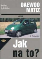 Kniha DAEWOO MATIZ  od 1998