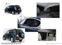 Privacy Shades přesné protisluneční clony - 4 dílná sada Daewoo Kalos 5dv. -- rok výroby 2002-08