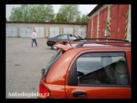 Zadní spoiler kšilt nad okno Daewoo Matiz -- od roku výroby 98-