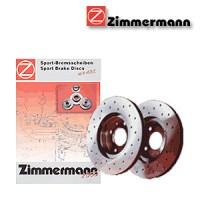 Zimmermann přední sportovní brzdové kotouče -vzduchem chlazené DAEWOO ESPERO (KLEJ)  -motor 2.0 -- rok výroby 10.91-06.99